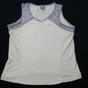 Nike dry fit v neck workout tank top ladies